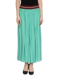 Souvenir Clubbing Long Skirts Light Green
