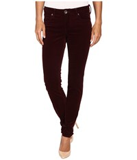 Kut From The Kloth Diana Cord Skinny Jean Bordeaux Women's Jeans Burgundy