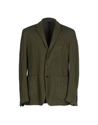 Piombo Suits And Jackets Blazers Men Military Green