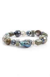 Stephen Dweck Women's Semiprecious Stone Stretch Bracelet