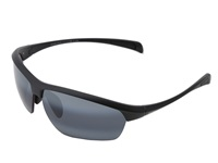 Maui Jim Stone Crushers Matte Black Neutral Grey Sport Sunglasses