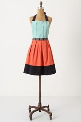 Anthropologie Cuisine Couture Apron Turquoise