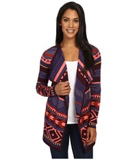 Smartwool Camp House Wrap Aubergine Heather Women's Long Sleeve Pullover Brown