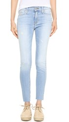 Hudson Nico Mid Rise Ankle Jeans Blue