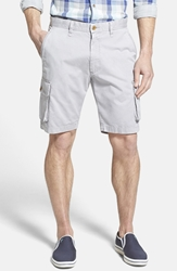 Robert Graham 'Globe Trotter' Cargo Shorts Grey