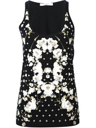 Givenchy Gypsophila Print Tank Top Black