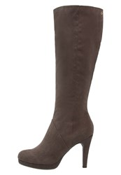 Anna Field High Heeled Boots Taupe