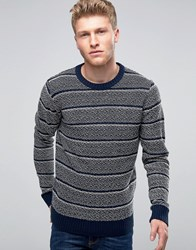 Another Influence Space Dye Jumper Navy
