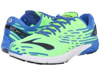 Purecadence 5 Green Gecko Electric Brooks Blue Black Men's Running Shoes