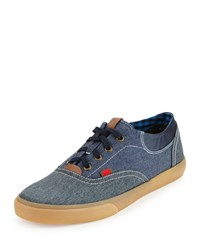 Ben Sherman Stevie Colorblock Low Top Sneaker Navy Blazer