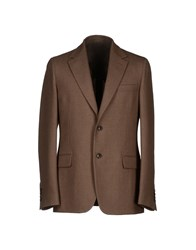 Faconnable Blazers Brown