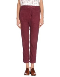 Local Apparel Casual Pants Garnet