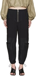 3.1 Phillip Lim Navy Cut Out Cargo Pants