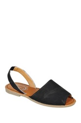 Refresh Clori Flat Sandal Black