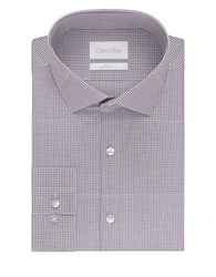 Calvin Klein Checkered Cotton Sportshirt Pink