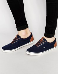 Jack And Jones Jack And Jones Vision Canvas Plimsoll Blue