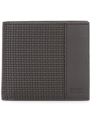 Hugo Boss Jacquard Wallet Brown