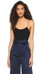 Tibi Kate Bodysuit Black