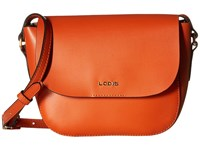 Lodis Blair Bailey Crossbody Papaya Taupe Cross Body Handbags Orange