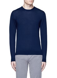 Altea Virgin Wool Sweater Blue
