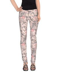Andy Warhol By Pepe Jeans Denim Denim Trousers Women Light Pink