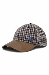 Men's Melin 'The Voyage' Tweed And Leather Baseball Cap