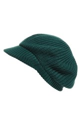Echo Women's 'Gibson Girl' Knit Hat Green Rich Jade