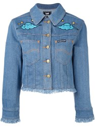 House Of Holland 'Hoh X Lee Collaboration' Denim Jacket Blue