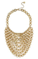 Women's Trina Turk Chain Bib Necklace
