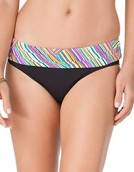 Anne Cole Rainbow Arches Bikini Bottom Multi Colored