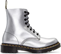 Dr. Martens Silver Eight Eye Pascal Boots