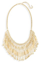 Women's Bp. Metal Fringe Statement Necklace
