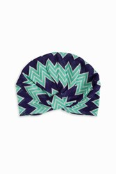 Missoni Women S Zigzag Turban Boutique1 Green