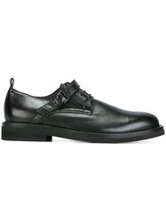 Ann Demeulemeester Strap Detail Lace Up Shoes Black