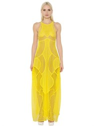 Stella Mccartney Embroidered Tulle And Organza Dress
