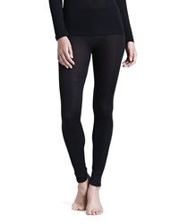 Hanro Silk Leggings Black