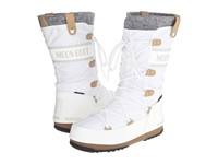 Tecnica Moon Boot Monaco Felt White Women's Cold Weather Boots