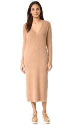 Demy Lee Jonie Sweater Dress Camel