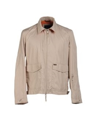 Faconnable Jackets Light Grey