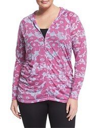 Soybu Plus Long Sleeve Zip Hoodie Orchid Pond