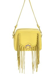 Paula Cademartori Didi Fringed Leather Shoulder Bag
