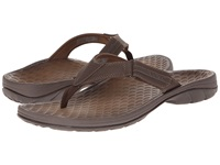 Vionic With Orthaheel Technology Harbor Brown Men's Sandals