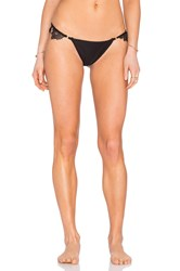 For Love And Lemons Barcelona Bikini Bottom Black