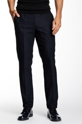 Ted Baker Kimtro Houndstooth Pant Blue