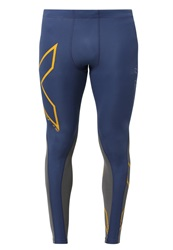 2Xu Wind Defense Thermal Compression Tights Blue