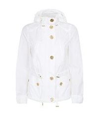 Michael Michael Kors Short Raincoat White