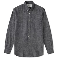 Our Legacy Everyman 1940S Button Down Shirt Black