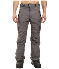 686 Authentic Smarty Cargo Pants Steel Melange Men's Casual Pants Gray