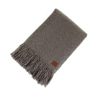 Ugg Luxe Mohair Throw Grey