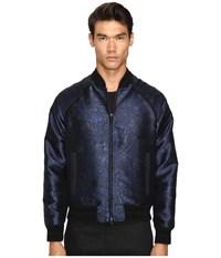 Just Cavalli Woven Printed Sports Jacket Blue Black